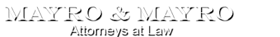 Logo, Mayro & Mayro, Attorneys at Law - Law Offices